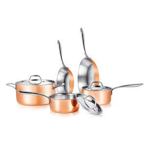 Tri-Ply Copper Set width=