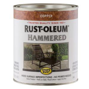 Rust-Oleum 7215502 Stops Rust Hammered Brush On Paint