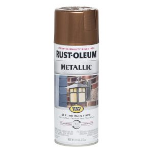 Rust-Oleum 248637 Stops Rust Metallic Spray Paint
