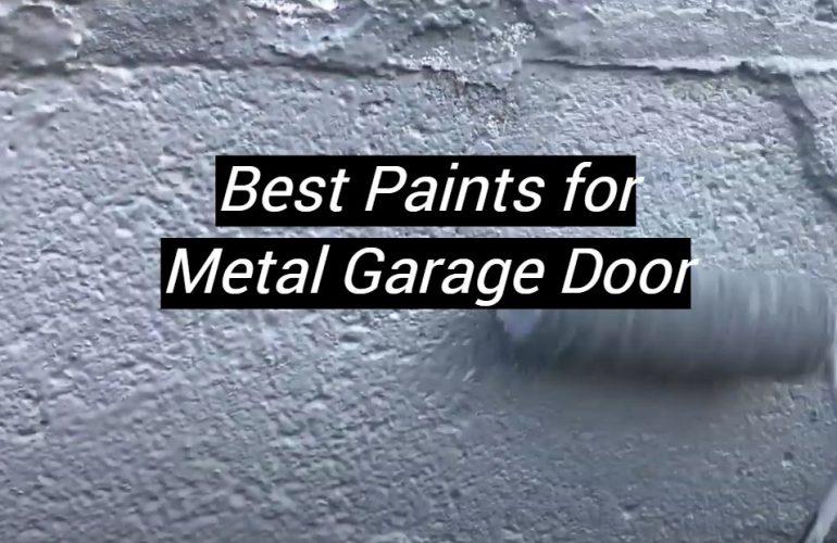 5 Best Paints for Metal Garage Door