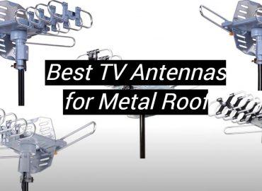 5 Best TV Antennas for Metal Roof